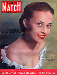 Paris Match cover issue 45