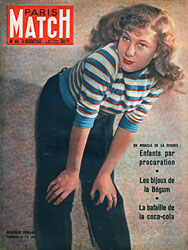 Paris Match cover issue 46