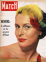 Paris Match cover issue 50