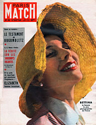 Paris Match cover issue 56