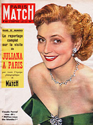 Paris Match cover issue 63