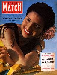Paris Match cover issue 81