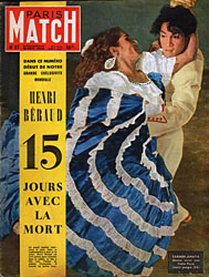 Paris Match cover issue 87