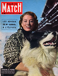 Paris Match cover issue 250