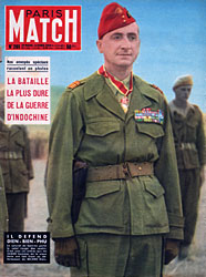 Paris Match cover issue 261