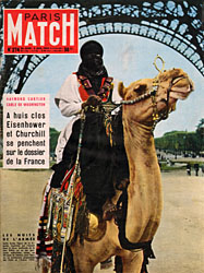 Paris Match cover issue 274