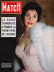 Paris Match cover issue 293