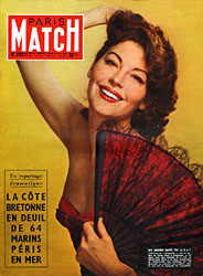 Paris Match cover issue 299