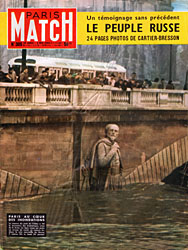 Paris Match cover issue 305