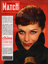 Paris Match cover issue 308