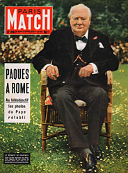 Paris Match cover issue 316