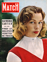 Paris Match cover issue 327