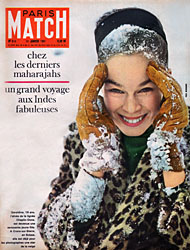 Paris Match cover issue 614