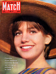 Paris Match cover issue 625