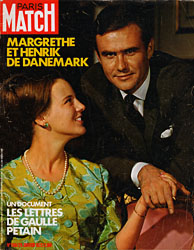Paris Match cover issue 1186