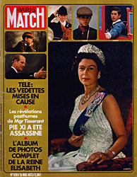 Paris Match cover issue 1201