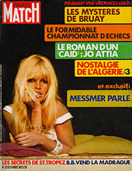 Paris Match cover issue 1213