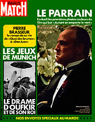 Paris Match cover issue 1216