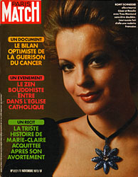 Paris Match cover issue 1227