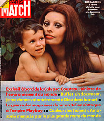 Paris Match cover issue 1231