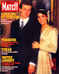 Paris Match cover issue 1807