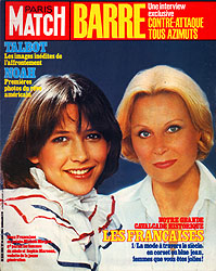 Paris Match cover issue 1808