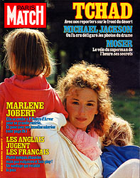 Paris Match cover issue 1811