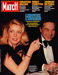 Paris Match cover issue 1817