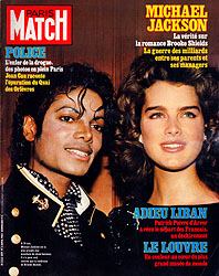 Paris Match cover issue 1819