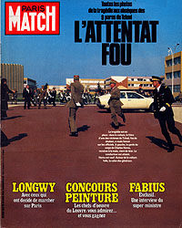 Paris Match cover issue 1821