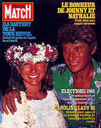 Paris Match cover issue 1823