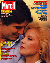Paris Match cover issue 1824