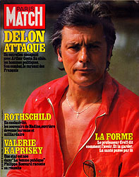 Paris Match cover issue 1825