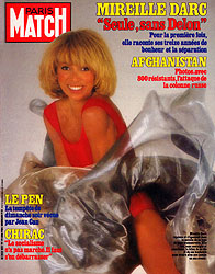 Paris Match cover issue 1831