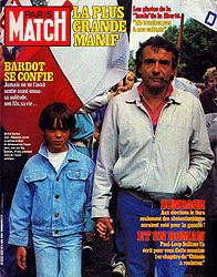 Paris Match cover issue 1832