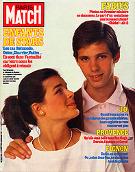 Paris Match cover issue 1836
