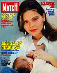 Paris Match cover issue 1837