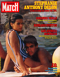 Paris Match cover issue 1838