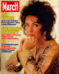 Paris Match cover issue 1839