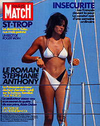 Paris Match cover issue 1840