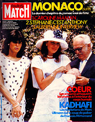 Paris Match cover issue 1842