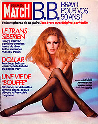Paris Match cover issue 1843