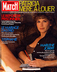 Paris Match cover issue 1845