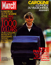 Paris Match cover issue 1847