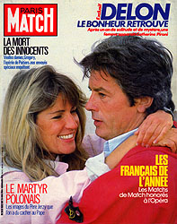 Paris Match cover issue 1852