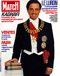Paris Match cover issue 1853