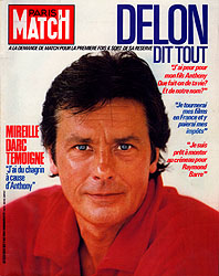 Paris Match cover issue 1854