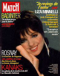 Paris Match cover issue 1855
