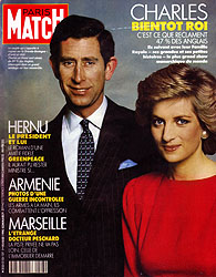 Paris Match cover issue 2123