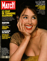 Paris Match cover issue 2127